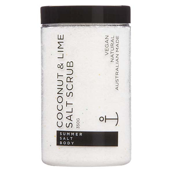 Coconut & Lime Salt Scrub - 350g tub