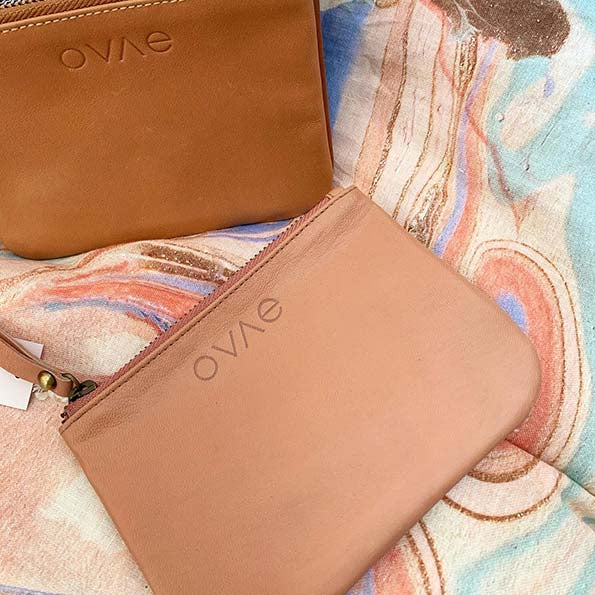 Ovae - Coin Purse in Chestnut