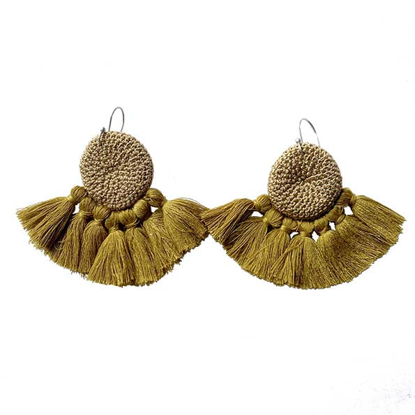 Cumin & Cumin - Crochet Earrings