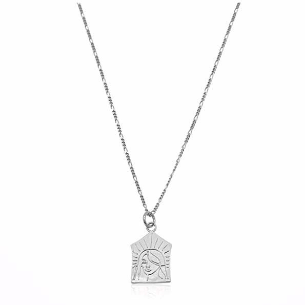 Linda Tahija Silver Empress Necklace