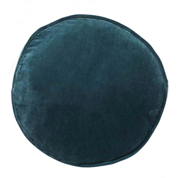 Green Sea Velvet Pea Cushion
