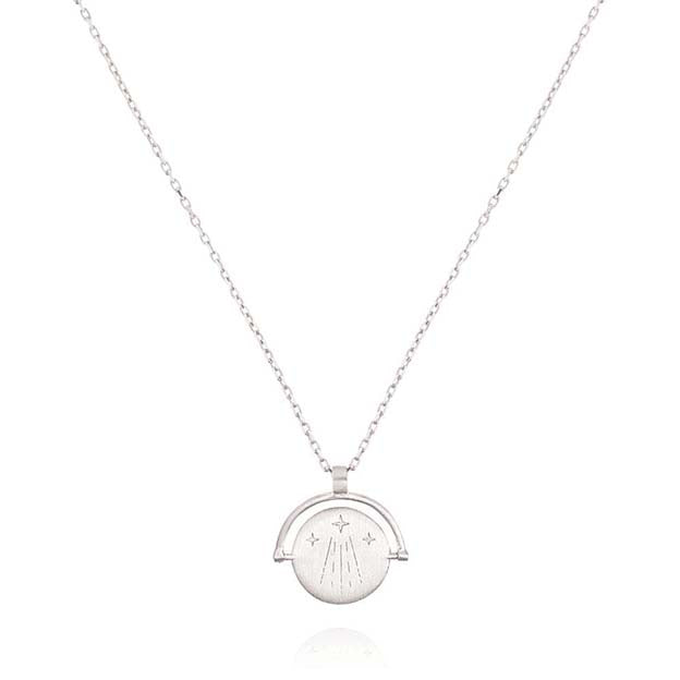 Linda Tahija Silver Luck Necklace - Amulets of Alchemy
