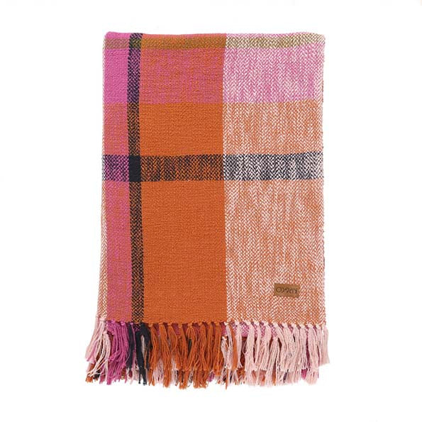 Marmalade Toast Tartan Throw