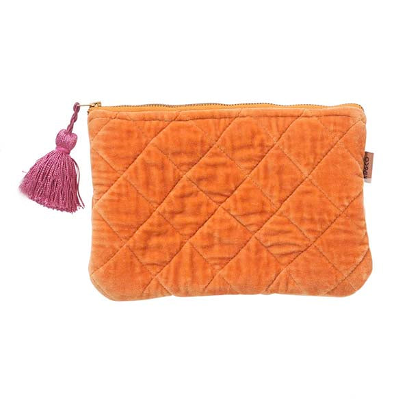 Marmalade Velvet Cosmetic Purse