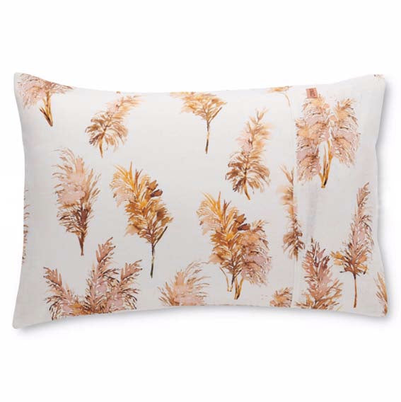 Pampas Field Linen Pillowcase Set