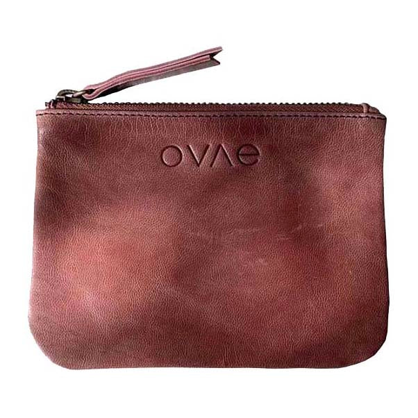 Ovae - Coin Purse in Pinot