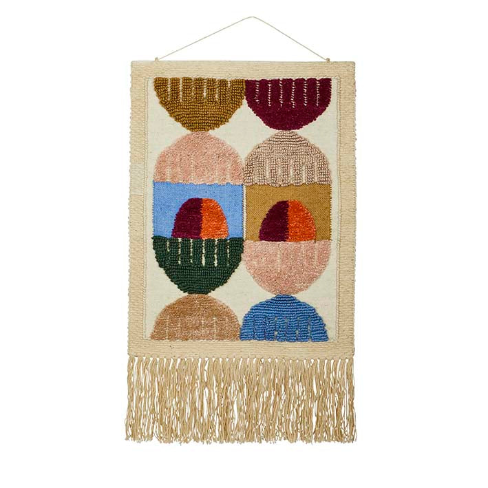 Rue Wall Hanging - Lumiere Art & Co