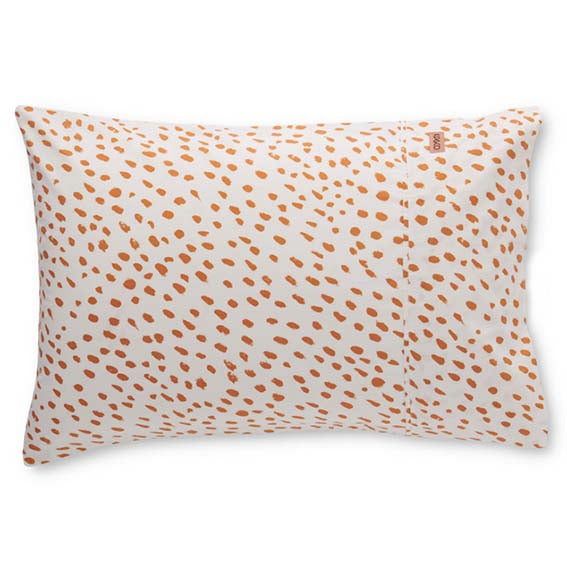 Speckled Caramel Cotton Pillowcase Set