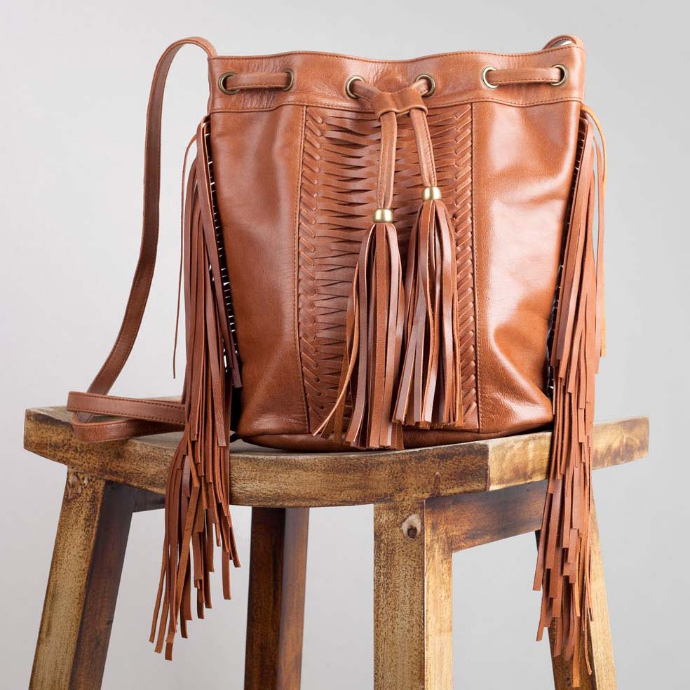 Sterling cross-body Bag – Walnut