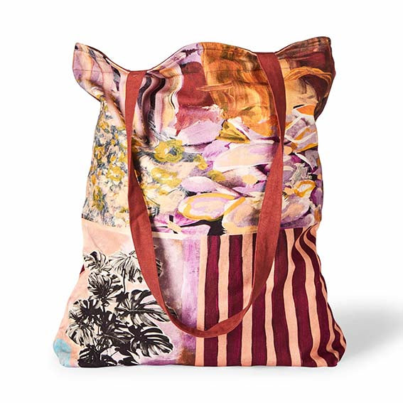 Summer Garden Tote Bag - Lumiere Art & Co