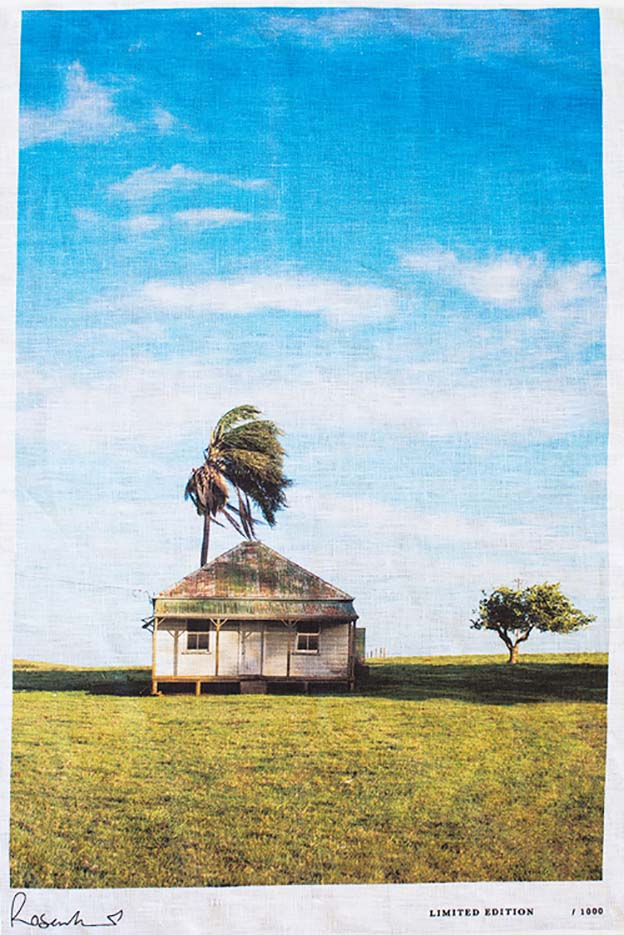 Kara Rosenlund - Byron Bay Shack Tea towel