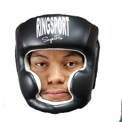 Super pro boxing head guard Leeroy