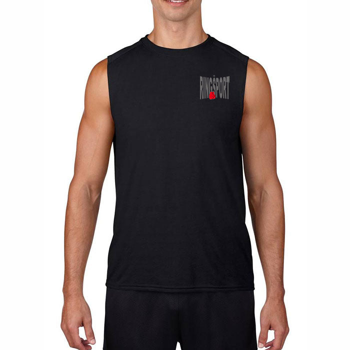 RINGSPORT SLEEVELESS TEE SHIRT