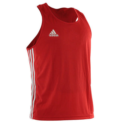Adidas boxing singlet red