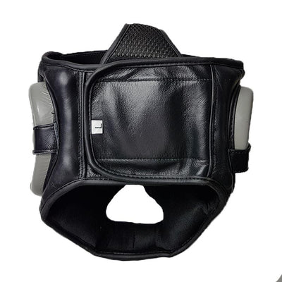 Ads leather head guard rear