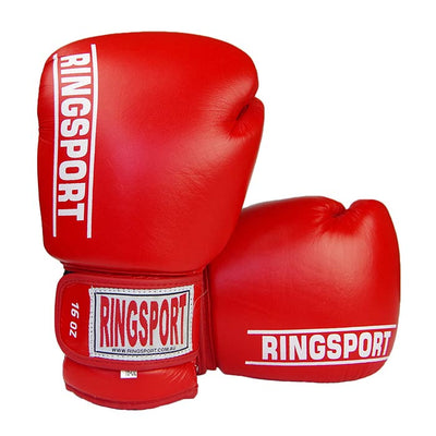 Ringsport all rounder boxing glove red