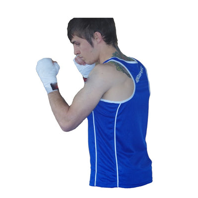 Amateur boxing singlet elite side