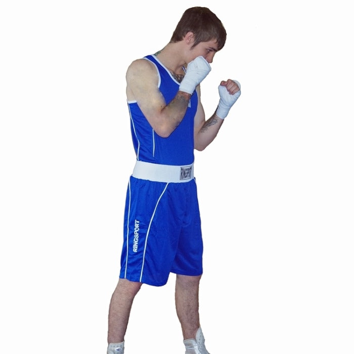 Elite boxing shorts blue