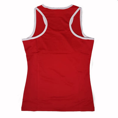 Female boxing singlet back view