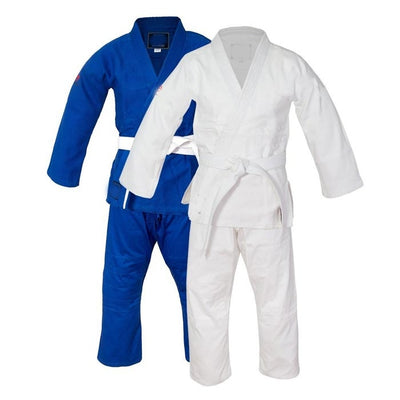 Judo gi single weave