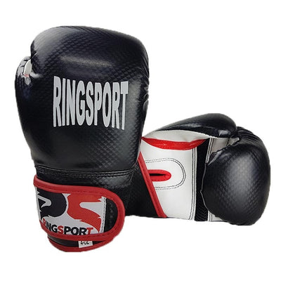 Kids boxing gloves black