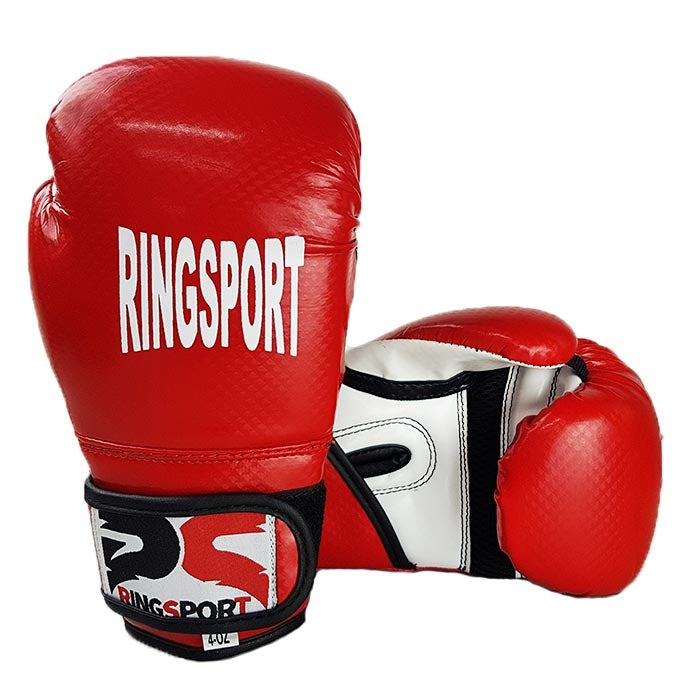 Kids boxing gloves red