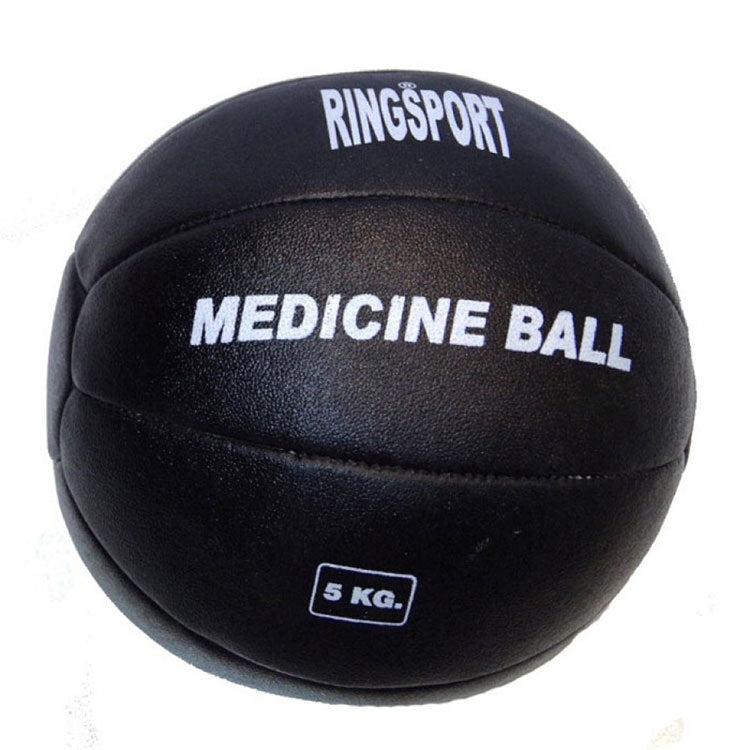 RINGSPORT LEATHER MEDICINE BALL
