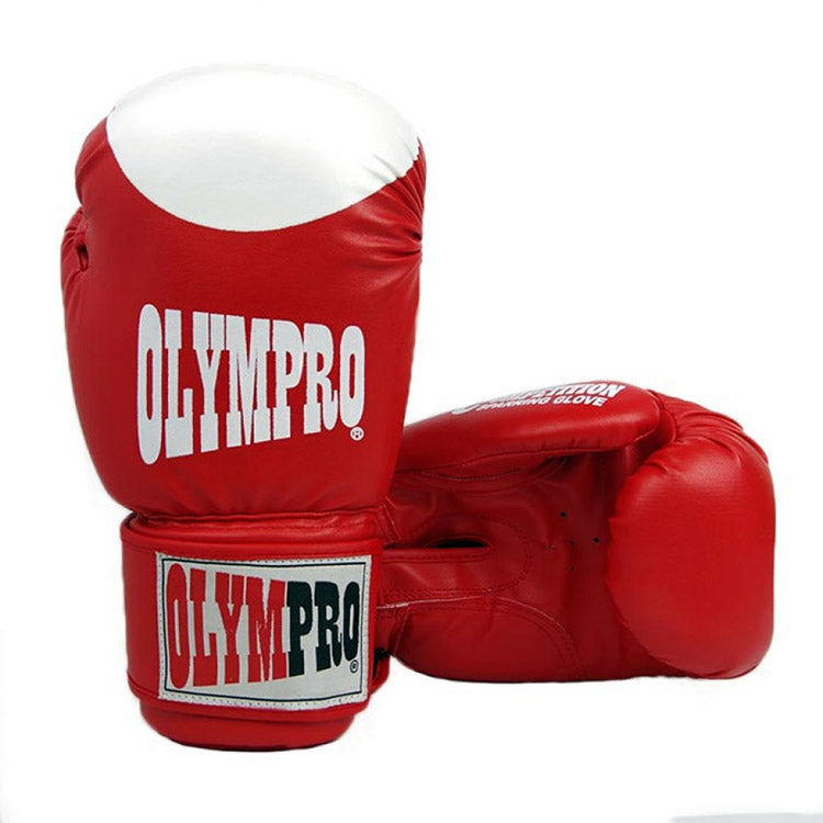 OLYMPRO COMP SPARRING PU BOXING GLOVES