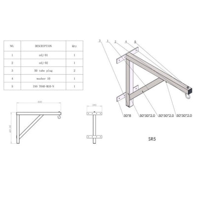 Boxing wall frame design