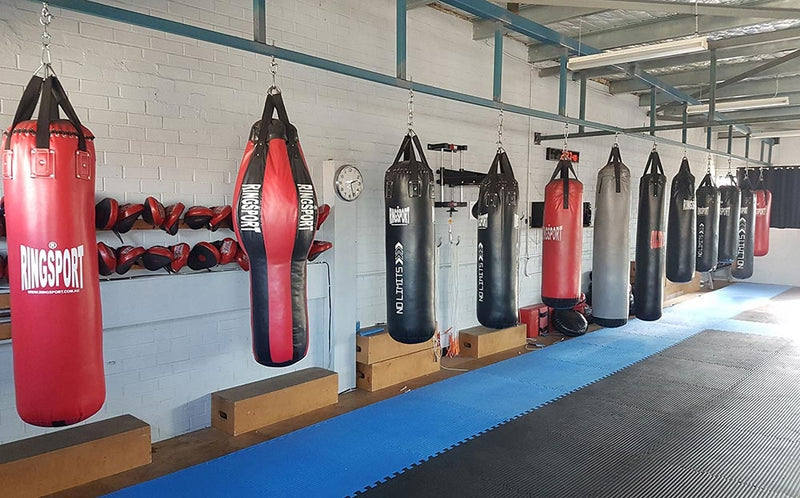 Custom made punching bags