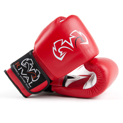 Rival super bag gloves red