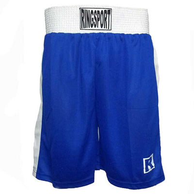 Ringsport boxing shorts blue
