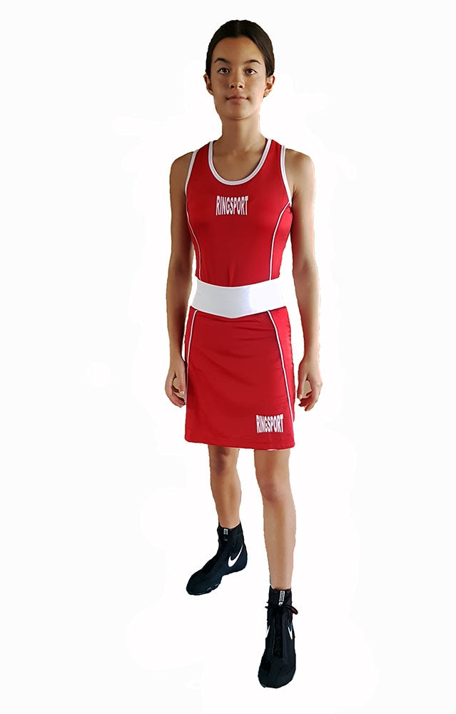 Female boxing singlet
