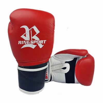 Raptor boxing glove red