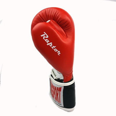 Raptor boxing glove thumb attachment