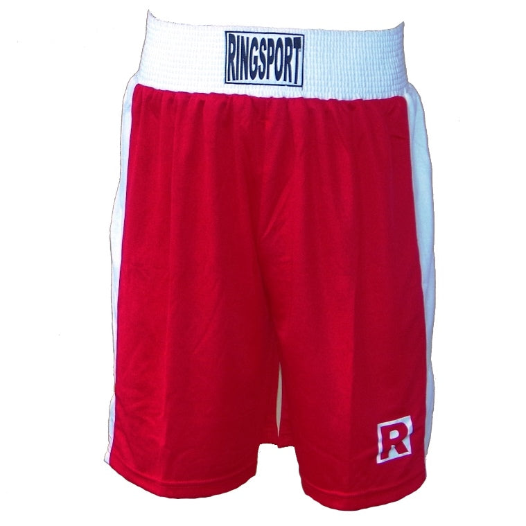 Ringsport boxing shorts red