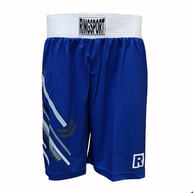 Strike boxing shorts blue
