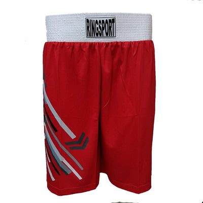 Strike boxing shorts red