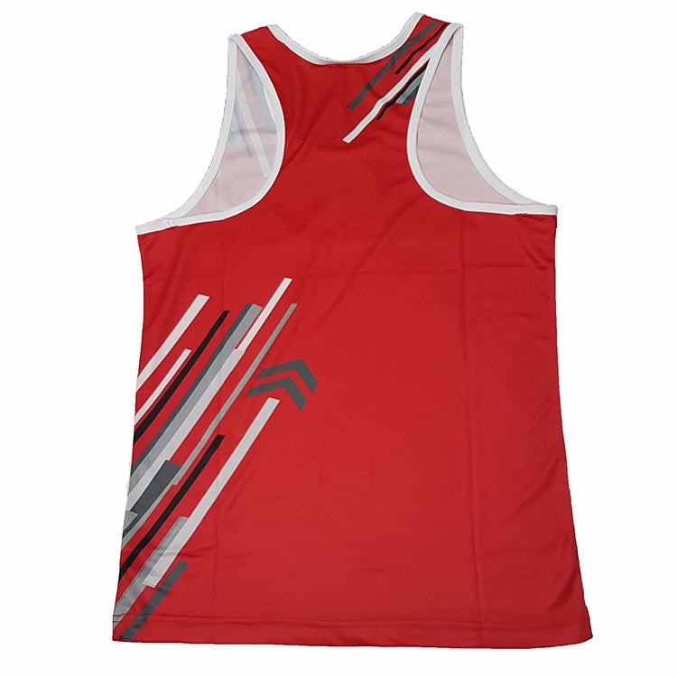 Strike boxing singlet blue