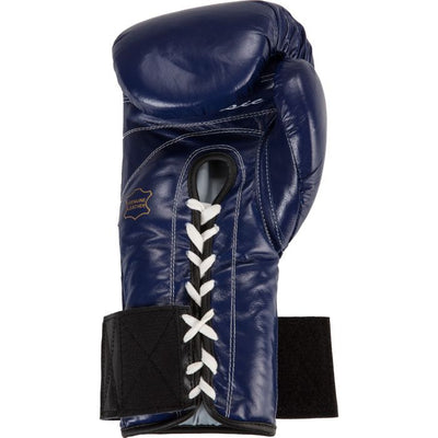 Boxing glove lace converter open