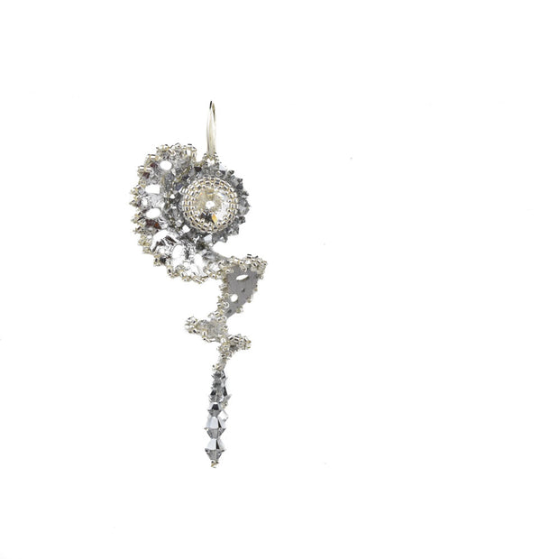 DAHLIA LARGE SINGLE EARRING