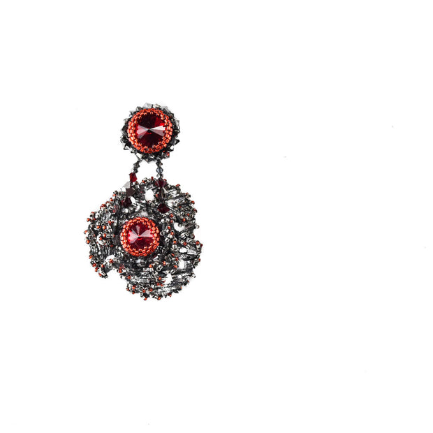 ZAHRA MEDIUM SINGLE EARRING