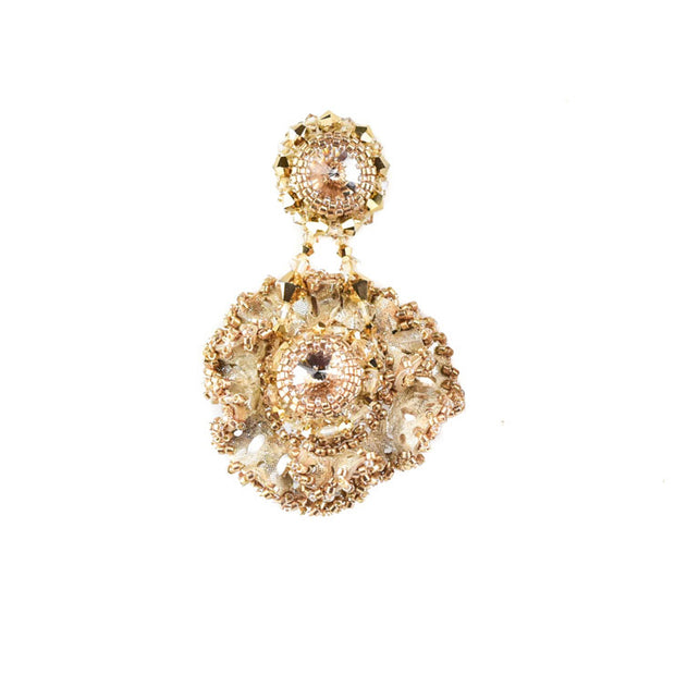 ZAHRA MEDIUM GOLD EARRINGS