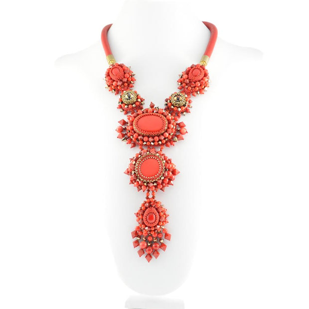 AVA NECKLACE RED