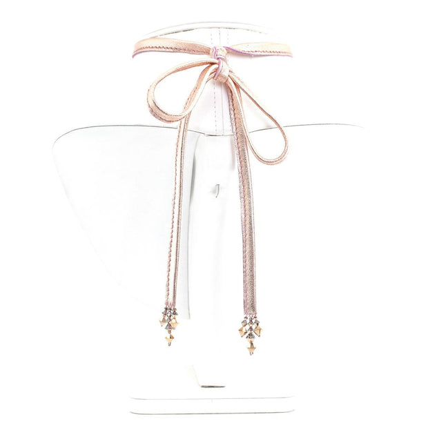 CHLOE SINGLE CHOKER ROSE GOLD