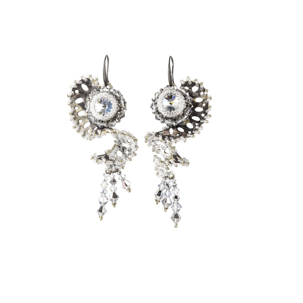 DAHLIA LARGE PAIR EARRINGS