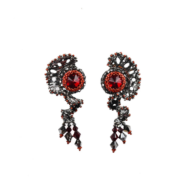 DAHLIA STUD PAIR EARRINGS