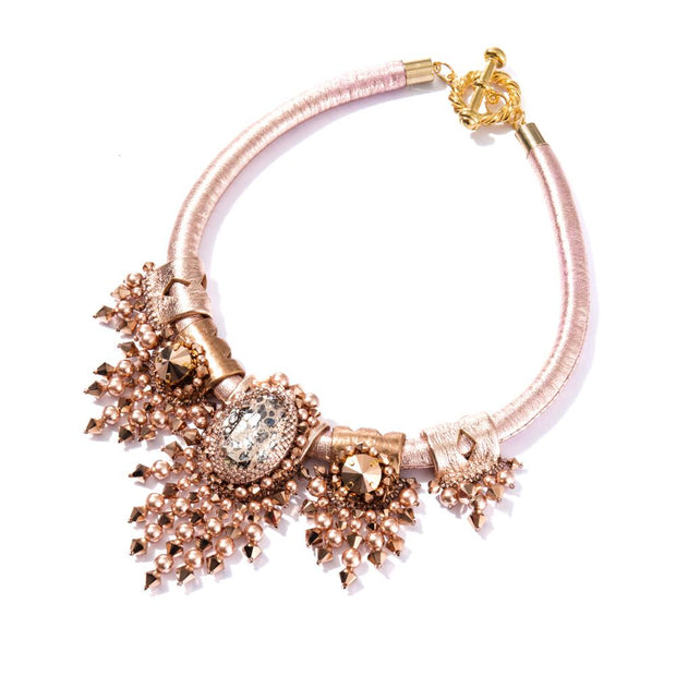 JOY NECKLACE ROSE GOLD