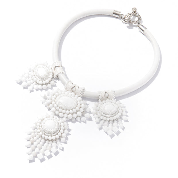 TARA NECKLACE WHITE