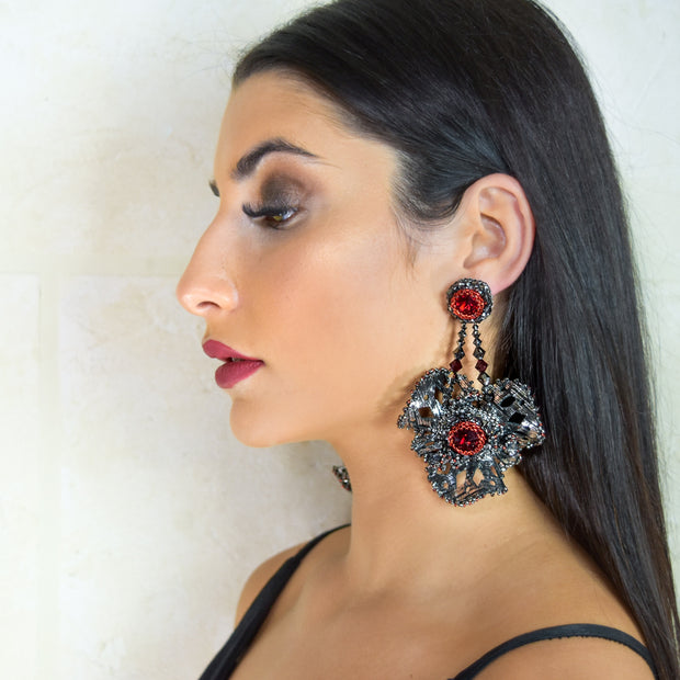 ZAHRA LARGE PAIR EARRINGS